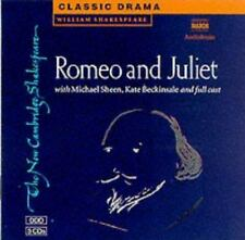 ROMEO AND JULIET - NEW CD/SPOKEN WORD BOOK