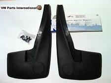 VW GOLF MK3 VR6 GTI Rear Mud Flaps VOTEX NOS OEM VW Parts Shipped Worldwide