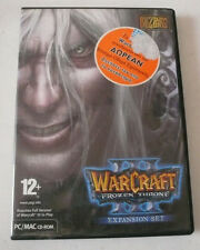 WARCRAFT 3 III The Frozen Throne (Windows/Mac, 2003) REGION FREE PRE OWNED
