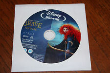 Disney Pixar BRAVE BLU-RAY Only Movie - NO CASE - Unviewed
