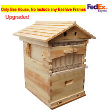 Wooden Bee Brood Beekeeping House For Auto Flow Honey Beehive Frames (Max 7PC)