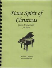 Spirit of Christmas  Carol Piano Pieces Solo Offertory Worship Church Hymn