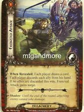 Lord of the Rings LCG  - 1x Frenzied Attack  #023 - The Dunland Trap