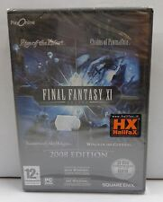 Computer Gioco Game PC DVD-ROM Play - FINAL FANTASY XI 11 2008 Edition - Square