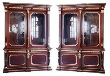 Pair of Antique French Empire Bookcases #5790