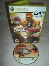 Xbox 360 Console Game - UFC Undisputed 2010 - No Manual