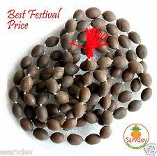 Best Quality Kamal Gatta Mala Lotus Seed Rosary - For Puja Japa Wearing Chanting