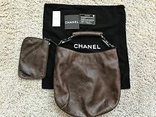CHANEL GRAFFITI LEATHER TOTE HOBO RARE