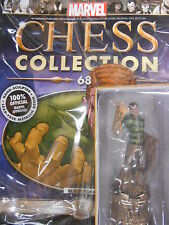 "MARVEL CHESS FIGURINE COLLECTION #68 ""SANDMAN"" (BLACK ROOK) EAGLEMOSS. NEW"