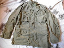 ORIGINAL VINTAGE US army USAF M65 M 65 FIELD COAT jacket VIETNAM WAR OG-107 M L