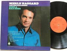 Merle Haggard And The Strangers - Sing A Sad Song LP Capitol Records Reissue