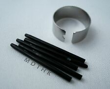 5X Black Standard Pen Nibs For Wacom Bamboo Graphire Intuos 3 & 4 Cintiq Tablet