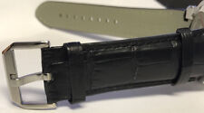 New Genuine Alligator Strap and Buckle For Renato Master Horology Watch