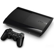 PS3 SUPER SLIM CONSOLE 12GB CHARCOAL BLACK