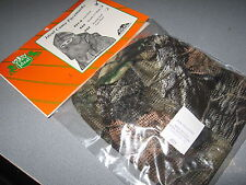 Ideal Archery Turkey Hunting Full Camo Face Mask Light Weight See Thru Mesh 621A