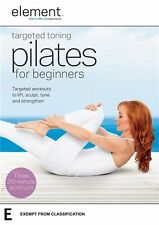 Element: Targeted Toning Pilates for Beginners - Elizabeth Ordway NEW R4 DVD