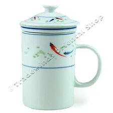 Tre pezzi tazza da tè cinese-Fish Design