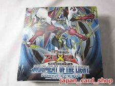 20427 AIR Yugioh Japanese Judgement of The Light Booster Factory Sealed Box