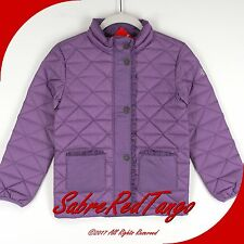 NWT HANNA ANDERSSON SUPERLIGHT PACKABLE DOWN JACKET COAT WILD PURPLE 140 10
