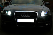 2x Bulbs T10 LED Cree Sidelights White Xenon No Error For Audi A6 S6 RS6 C4 C5