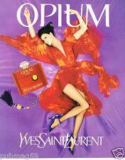 Publicité advertising 1997 Parfum Opium par Yves Saint Laurent
