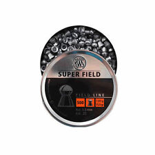 RWS  Superfield Air Gun Rifle Pellets .22 500's