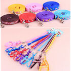 Hots Beauty Small Dogs Pets Puppy Cat Adjustable Nylon Harness with Lead leash