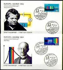 BRD 1994: Entdeckungen + Erfindungen! FDC Nr. 1732+1733! Bonner Stempel! 1A! 154