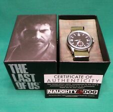 The Last Us Joel's Watch Limited Edition of 1000 NIB Wristwatch Timepiece