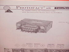 1969 1970 AMC JAVELIN SST AMX AM-FM RADIO SERVICE SHOP REPAIR MANUAL BROCHURE