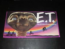E. T. THE EXTRA TERRESTRRIAL GAME PARKER BROTHERS 1982