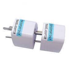 US UK EU Universal to AU Australia Plug AC Power Adapter Travel Converter