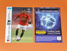 NANI MANCHESTER UNITED PORTUGAL FOOTBALL CARDS PANINI CHAMPIONS LEAGUE 2007-2008