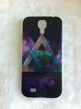 Galaxy/Cloud Space/Cloud Sky Geometric Triangle Printed Case - Samsung Galaxy S4