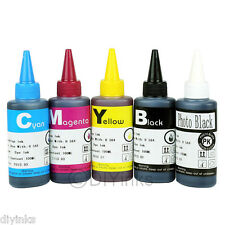 500ML Compatible Refill INK SET For HP 564/564XL PhotoSmart B8560 C309A C410A