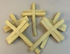 100 Hand Made Indian Palm Cross Crosses- Wholesale Available