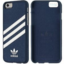 adidas Moulded Hard Cover Back Case iPhone 6, 6s Schutzhülle Handy Tasche blau