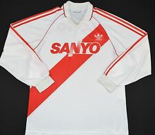 1992-1994 river plate adidas home football shirt (taille m)