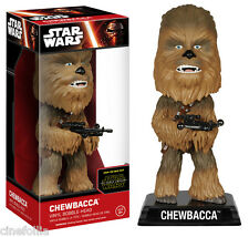 Bobble-head Star Wars VII The Force Awakens Chewbacca wacky wobbler 15 cm Funko