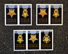 2013USA2014 2015 #4822-4823a b  Forever Medal of Honor War Set of  7  (3 Strips)