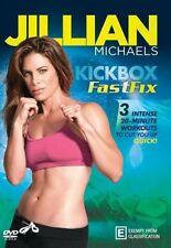 Jillian Michaels: Kick Box Fast Fix [Region 4] - DVD - New - Free Shipping.