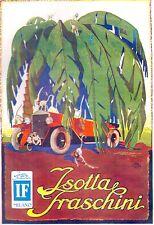 PUBBLICITA' ISOTTA FRASCHINI LUSSO ACHILLE MAUZAN SCIMMIE PALMA DESERTO 1926