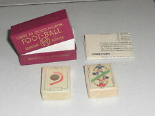 Carte da giuoco Mignon FOOT-BALL Creazione Bertino 1947 Calcio Tarot Cards 1