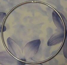 Dolly-Bijoux Bracelet Rhodié Jonc Lisse Argent Massif 925 65-69 mm - 4.4 Grammes