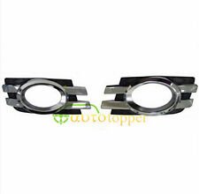 New One Pair Chorme Front Bumper Fog Light Grille For Mercedes X164 GL320 GL450