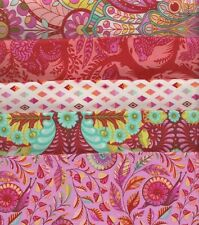 Fat Quarter Bundle Slow & Steady by Tula Pink for Free Spirit - 5 fat quarters