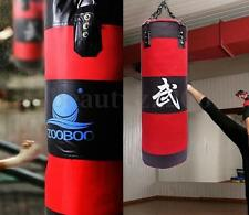 Heavy Duty 90cm Boxing Martial Arts Kicking Pre-filled Punching Training Bag