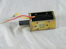NEW ~ TDS  STOP SOLENOID WITH PLUNGER ~ PART # TDS-12C ~ 12VDC ~ 7526