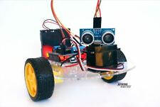 Arduino robot kit complete with full photographic building and coding tutorials.
