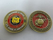CHALLENGE COIN US MARINE CORPS FORCES PACIFIC G3 WE MAKE IT HAPPEN